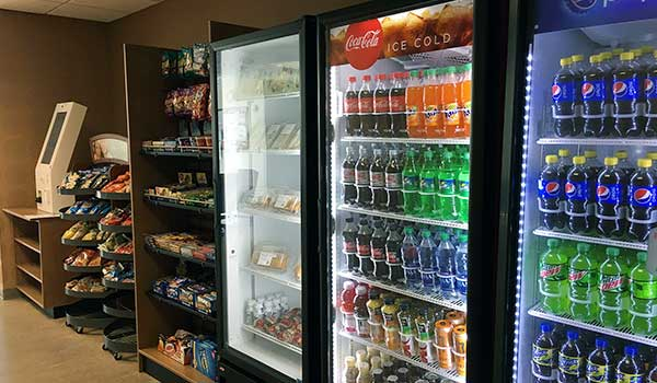 Vending machines and micro-market service in Dallas Fort Worth