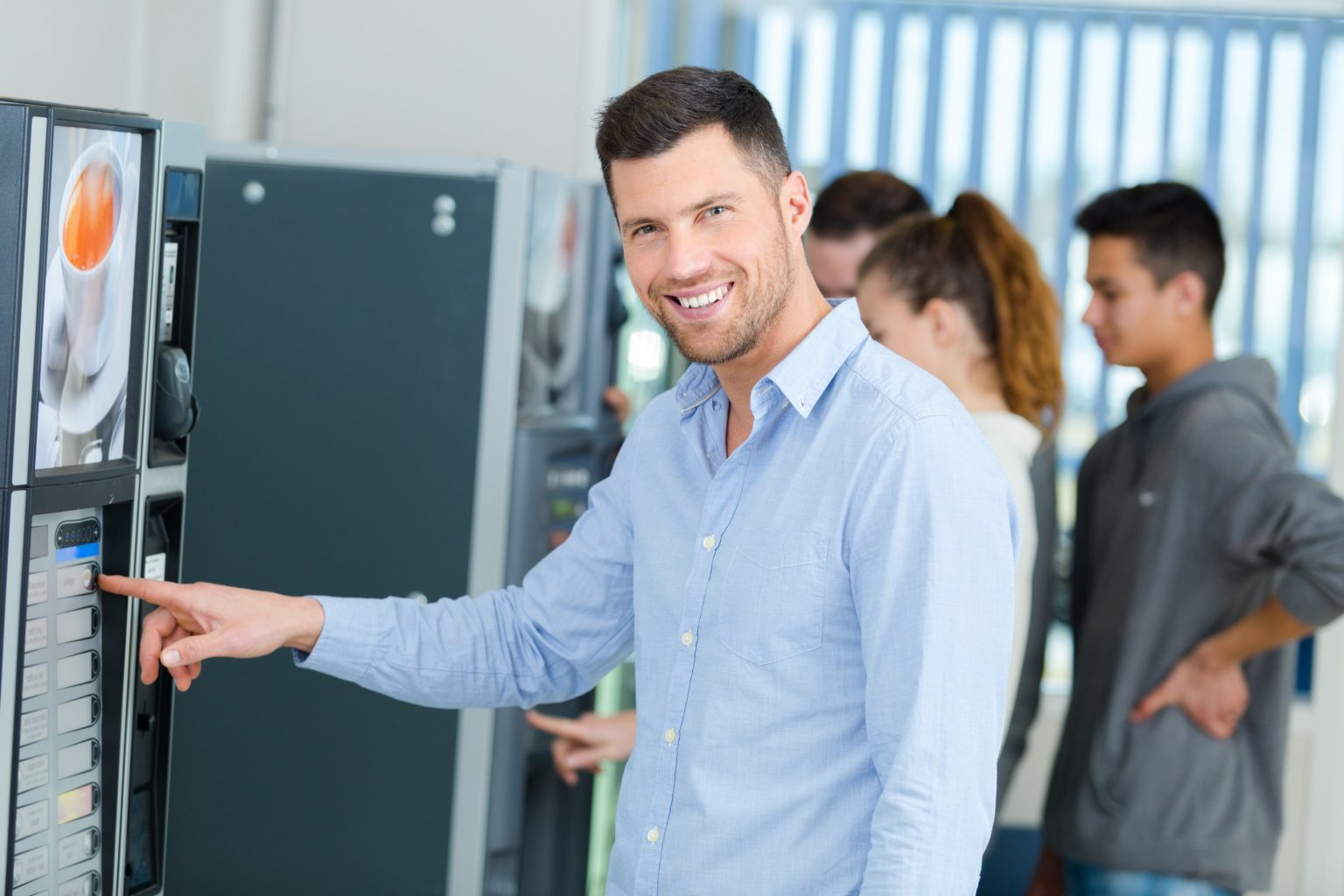 vending technology in dallas fort worth break rooms