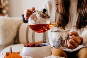 Hot tea in Dallas Fort Worth